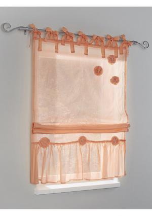 Римская штора Heine Home. Цвет: абрикосовый, белый, зеленый, серо-коричневый, голубой