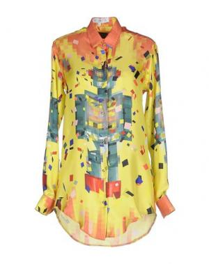 Pубашка LEITMOTIV. Цвет: желтый