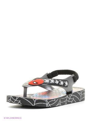 Шлепанцы Ipanema. Цвет: черный, белый, красный