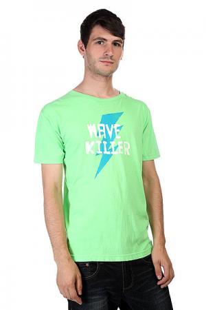 Футболка  Wave Killer Nlm Lost. Цвет: зеленый