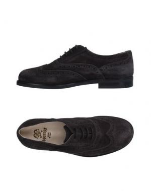 Обувь на шнурках EQUERRY. Цвет: свинцово-серый