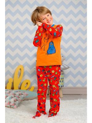 Пижама KitFox. Цвет: красный