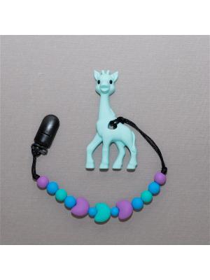 Игрушка-подвеска Краски лета. Цвет: бирюзовый, голубой, светло-голубой, фиолетовый