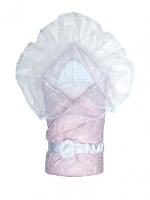 Конверт Диамант кружевной Сонный гномик. Цвет: розовый