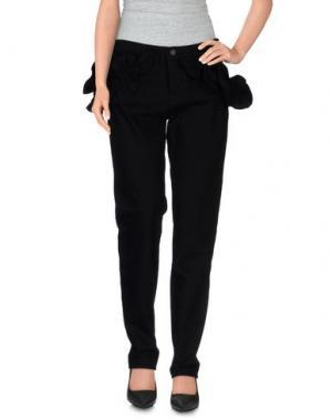 Джинсовые брюки SIMONE ROCHA x J BRAND. Цвет: черный