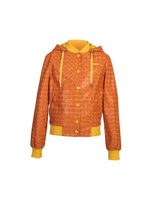 Ветровка Stillini. Цвет: оранжевый