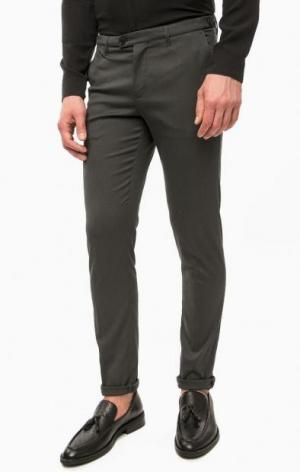 Классические серые брюки DRYKORN. Цвет: серый