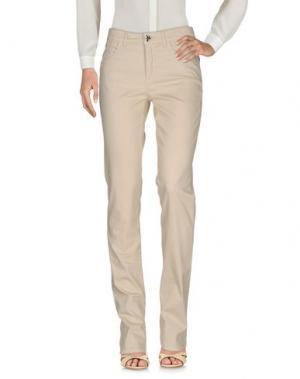 Повседневные брюки MARANI JEANS. Цвет: бежевый