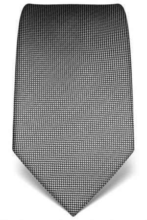 Галстук Vincenzo Boretti. Цвет: black and gray