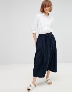 Waven Гаремные брюки Gittan Unisex. Цвет: темно-синий