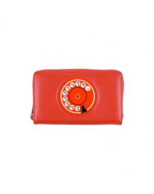 Бумажник YAZBUKEY. Цвет: красный