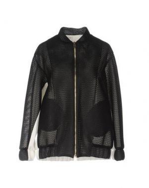 Куртка GUTTHA. Цвет: черный