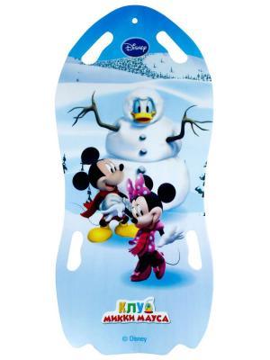 Ледянка Disney для двоих  122см 1Toy. Цвет: синий, зеленый