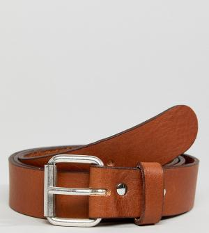 Weekday Светло-коричневый кожаный ремень Perfect. Цвет: рыжий