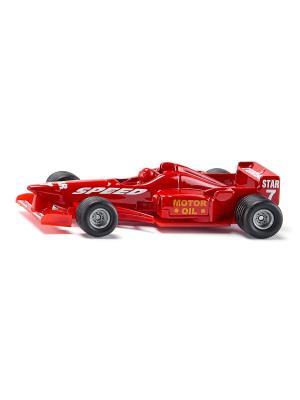 Машина гоночная SIKU. Цвет: красный