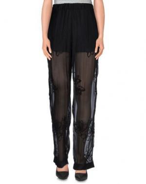 Повседневные брюки ATTIC AND BARN. Цвет: черный