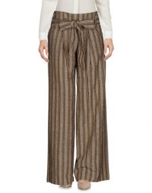 Повседневные брюки MASSCOB. Цвет: хаки