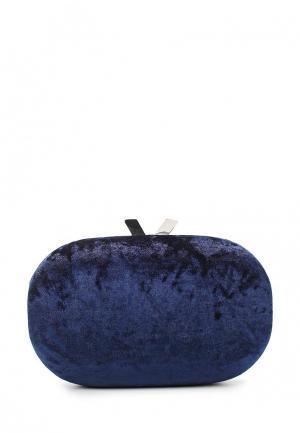 Клатч Olga Berg. Цвет: синий