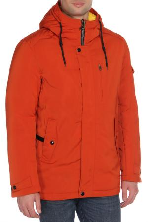 Куртка SINZOLE. Цвет: оранжевый