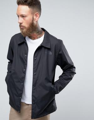 The North Face Черная спортивная куртка. Цвет: черный
