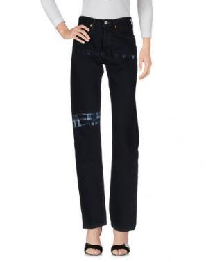 Джинсовые брюки BLACKYOTO. Цвет: черный