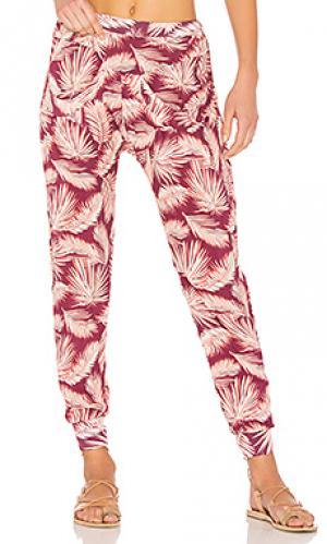 Зауженные брюки cover up Maaji. Цвет: фиолетовый