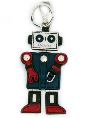 Брелок в виде робота Prada. Цвет: многоцветный