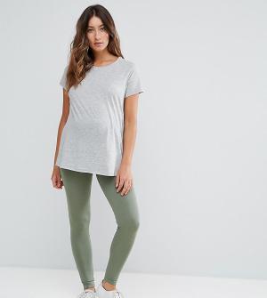 ASOS Maternity Леггинсы для беременных. Цвет: зеленый