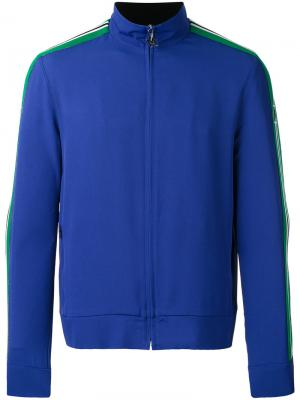 Куртка на молнии MSGM. Цвет: синий