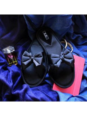 Тапочки Petit Pas. Цвет: черный