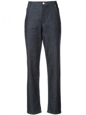 Прямые брюки Vanessa Seward. Цвет: синий