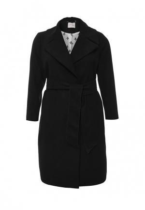 Пальто Fiorella Rubino. Цвет: черный