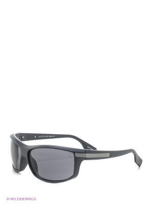 Солнцезащитные очки Alan Blank. Цвет: темно-серый