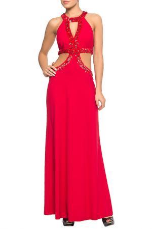 Платье пляжное Lora Grig. Цвет: красный