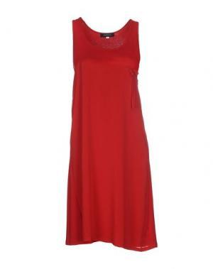 Платье до колена ALFONSO RAY. Цвет: красный