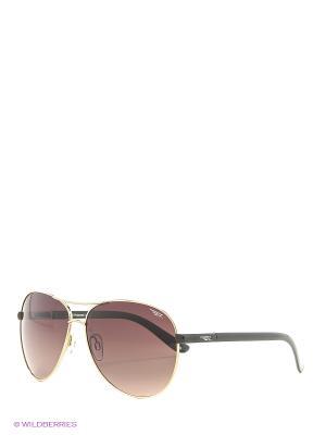 Солнцезащитные очки Legna. Цвет: золотистый, коричневый