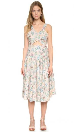 Платье Curtain Samantha Pleet. Цвет: розовые обои