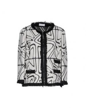 Пиджак CALALUNA. Цвет: светло-серый