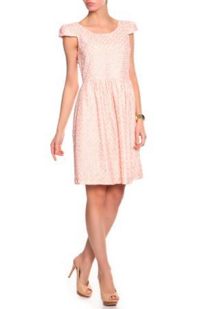 Платье BGN. Цвет: poem, темно-розовый