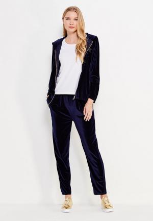 Костюм спортивный Brigitte Bardot. Цвет: синий