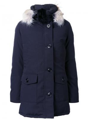 Пальто Bronte Canada Goose. Цвет: синий
