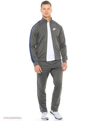 Спортивный костюм M NSW TRK SUIT PK SEASON Nike. Цвет: серый