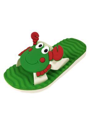 Пантолеты TINGO. Цвет: зеленый, белый, красный