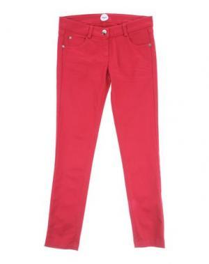 Повседневные брюки PARROT. Цвет: кирпично-красный