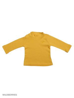 Водолазка Mini Midi. Цвет: желтый