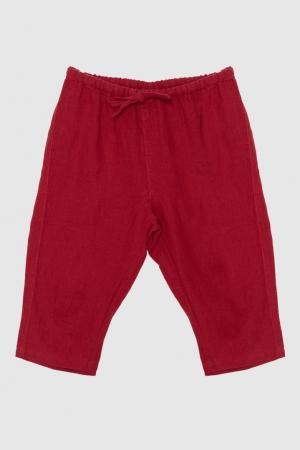 Брюки Caramel Baby&Child. Цвет: красный