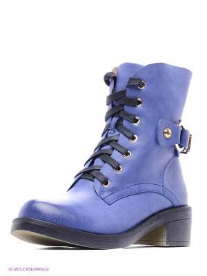 Ботинки INARIO. Цвет: синий