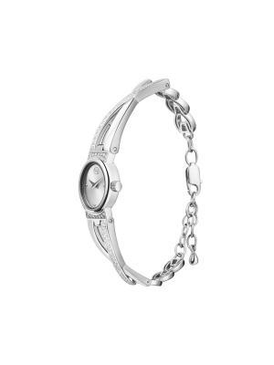 Часы ювелирные коллекция Chic QWILL. Цвет: серебристый