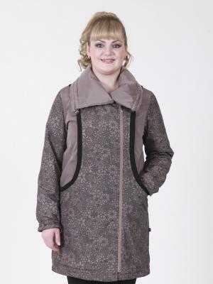 Пальто Сесилья VIKO. Цвет: светло-коричневый