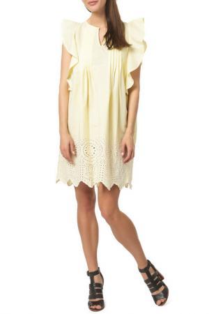 Платье DEBY DEBO. Цвет: yellow